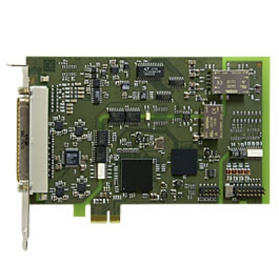 PCI Express analog I/O board