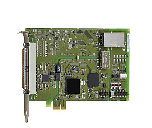 PCI Express analog output board